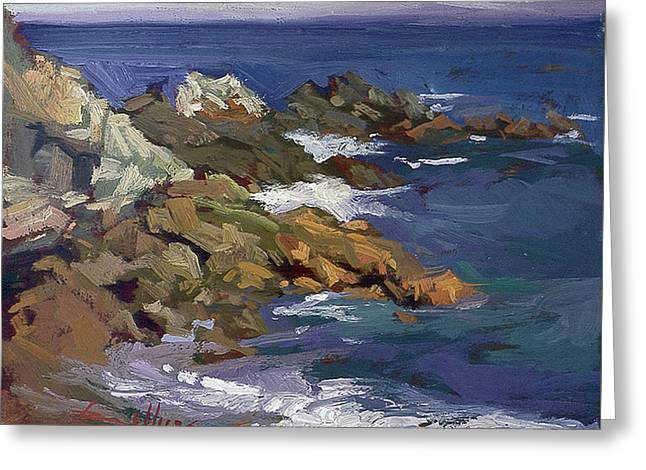 Shark Autumn Catalina  Plein Air Greeting Card