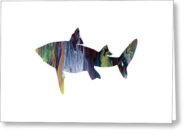 Shark Greeting Card by Mordax Furittus