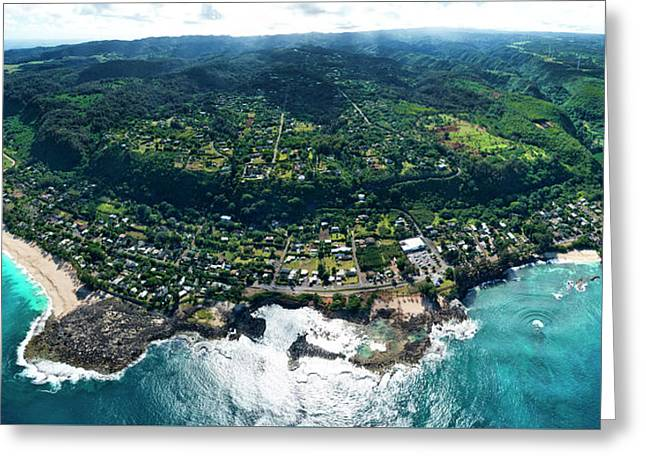 Sharks Cove Overview. Greeting Card