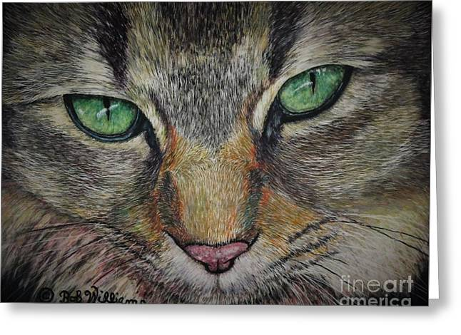 Sharna Eyes Greeting Card