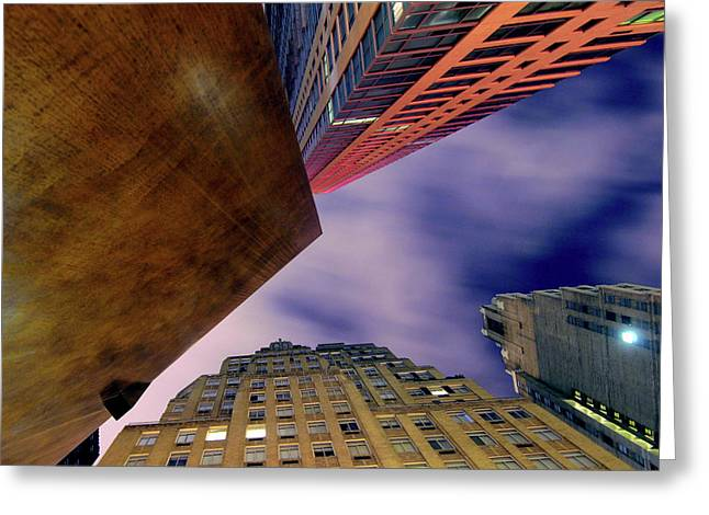 Sharp Greeting Card by Mike Lindwasser Photography