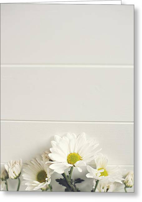 Shasta Daisies Cropped 1 Greeting Card