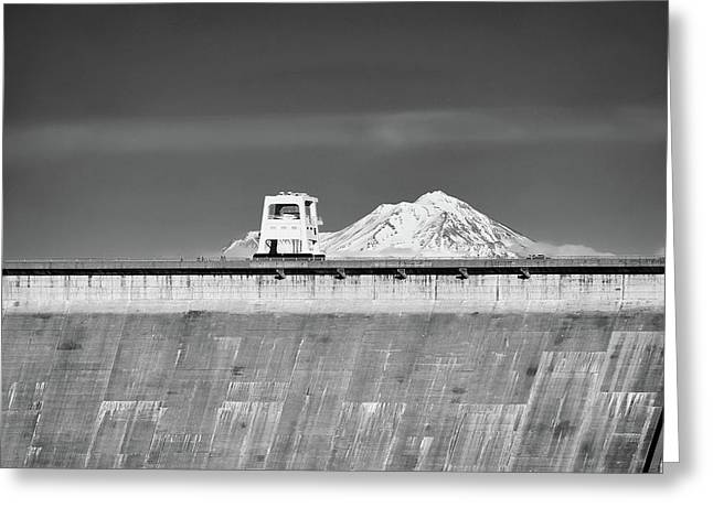 Shasta Dam  Greeting Card
