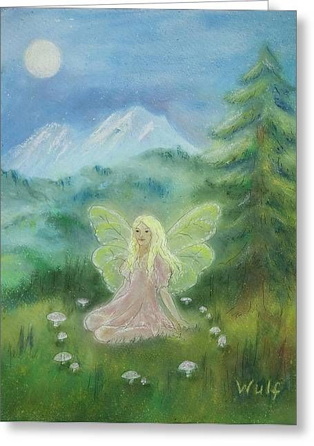 Shasta Fairy Greeting Card