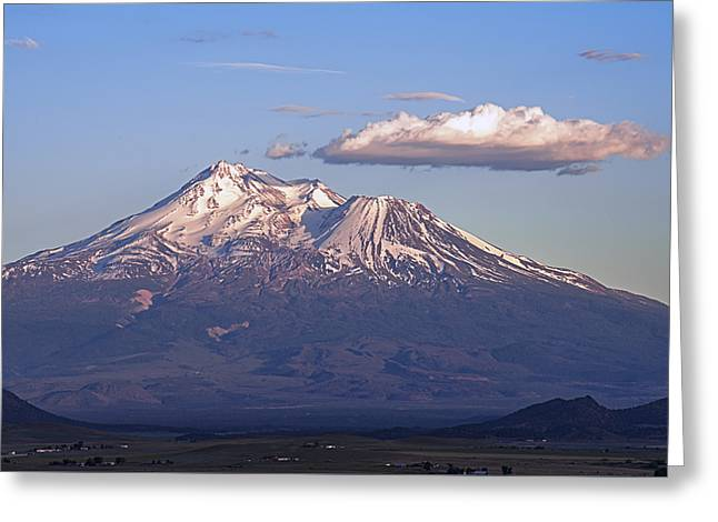 Shasta Valley View Greeting Card