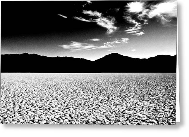 Dry Lake Greeting Cards - Shattered Ground Greeting Card by Aron Kearney Fine Art Photography