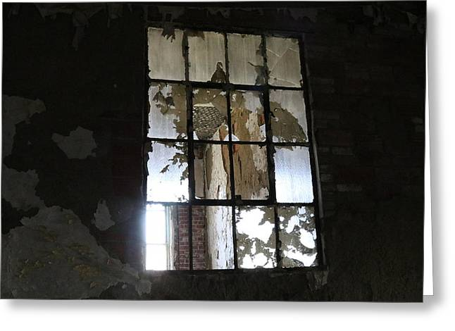 Shattered Greeting Card by Jeff Roney