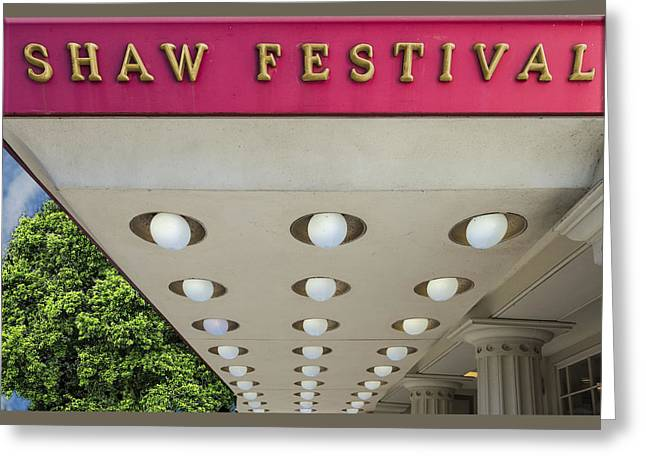 Shaw Festival Greeting Card by Paul Wear