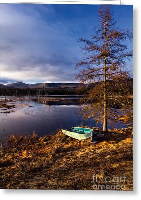 Shaw Pond Sunrise Greeting Card