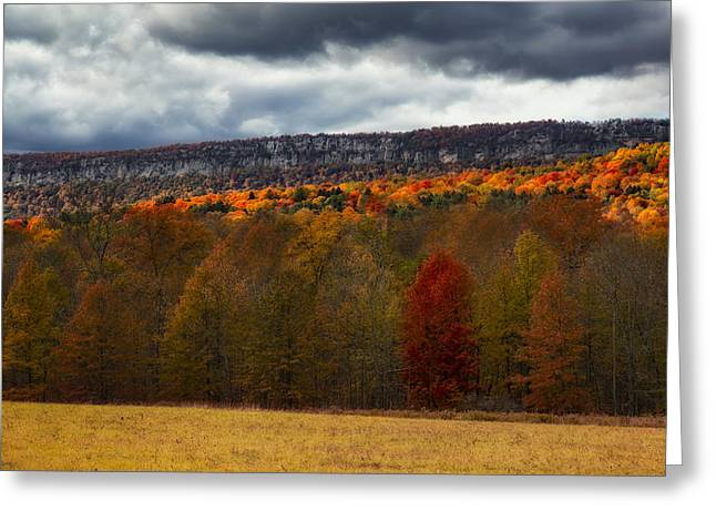 Shawangunk Mountains Hudson Valley Ny Greeting Card