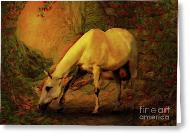 She Was My True Friend By Sarah Kirk Greeting Card