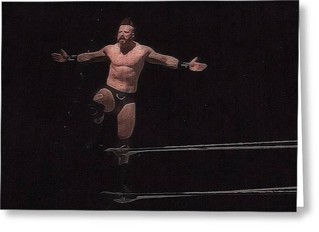 Sheamus Greeting Card by Paul  Wilford