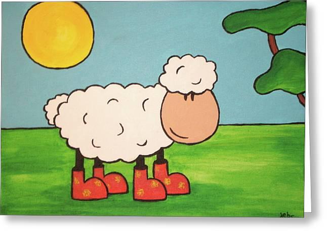 Sheeep Greeting Card