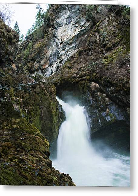 Sheep Creek Falls Greeting Card