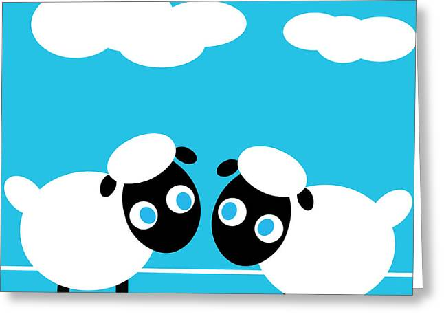 Sheep Greeting Card by Pbs Kids