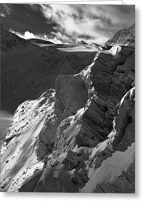 Sheer Alps Greeting Card