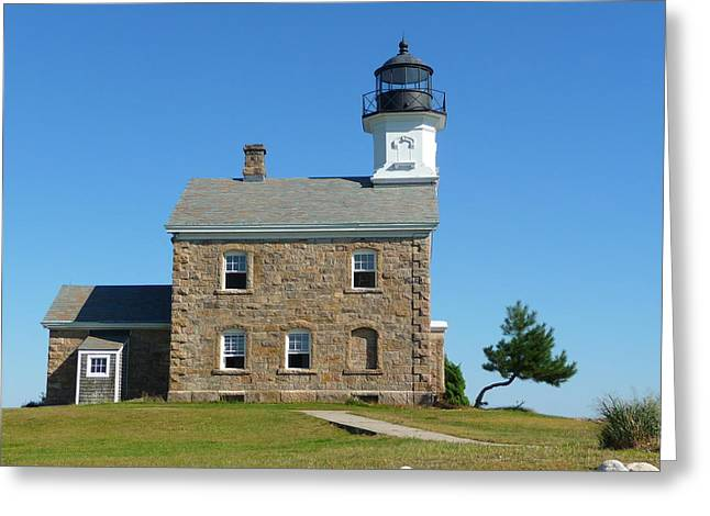 Greeting Card featuring the photograph Sheffield Lighthouse by Margie Avellino