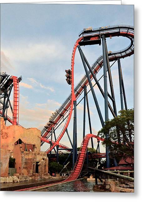 Sheikra Greeting Card