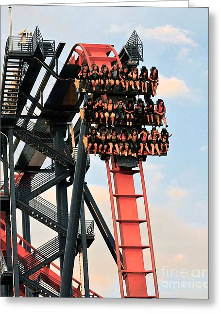 Sheikra Up Close Greeting Card
