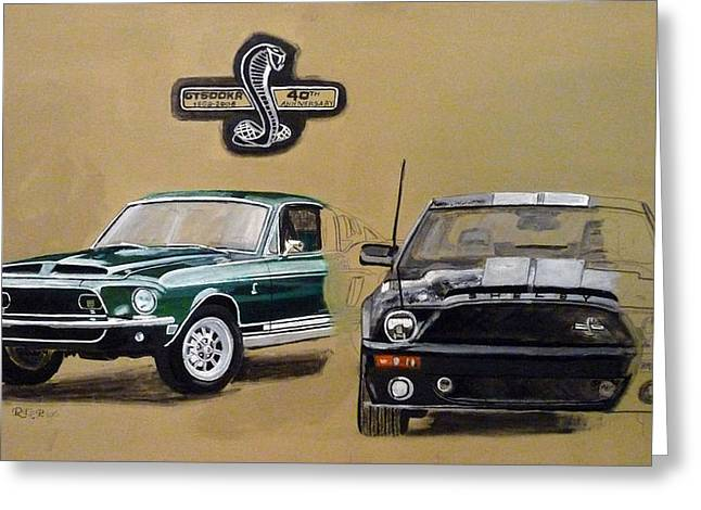 Shelby 40th Anniversary Greeting Card