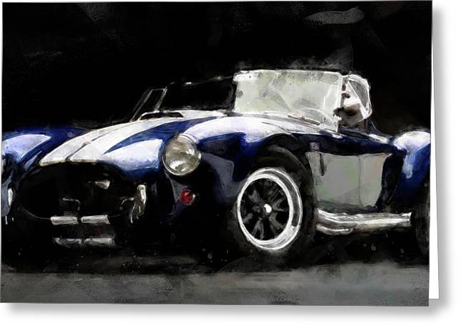 Shelby Cobra - 07 Greeting Card