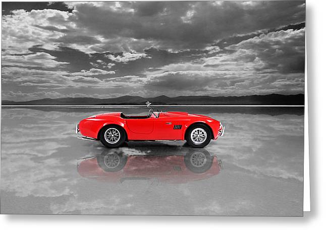 Shelby Cobra 1965 Greeting Card by Mark Rogan