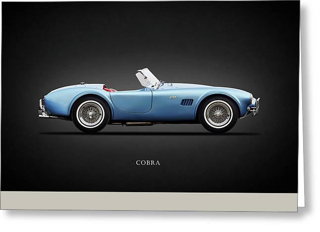 Shelby Cobra 289 1964 Greeting Card by Mark Rogan