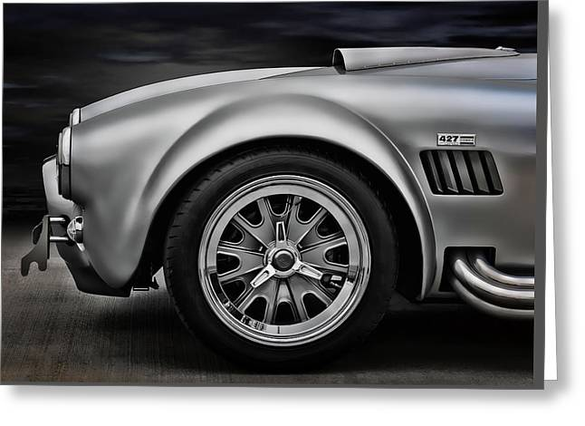 Shelby Cobra Gt Greeting Card by Douglas Pittman