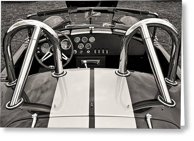 Shelby Cobra Greeting Card by Scott Wood