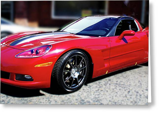 Shelby Corvette Greeting Card