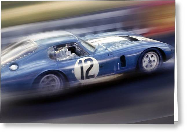 Shelby Daytona Greeting Card by Peter Chilelli