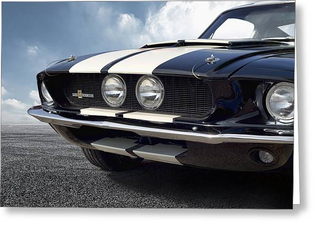 Shelby G.t. 500 Greeting Card