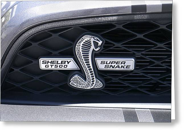Shelby Gt 500 Super Snake Greeting Card by Mike McGlothlen
