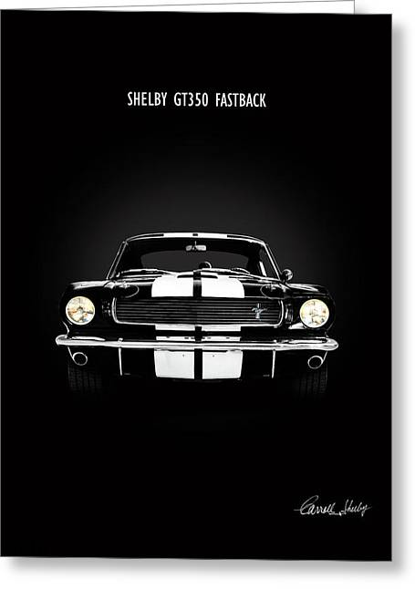 Shelby Gt350 Fastback Greeting Card