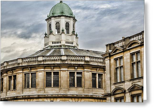Sheldonian Theatre Greeting Card by Stephen Stookey
