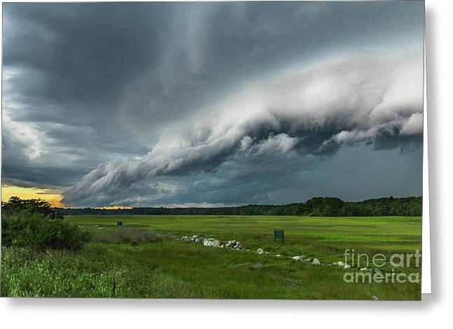 Shelf Cloud Greeting Card