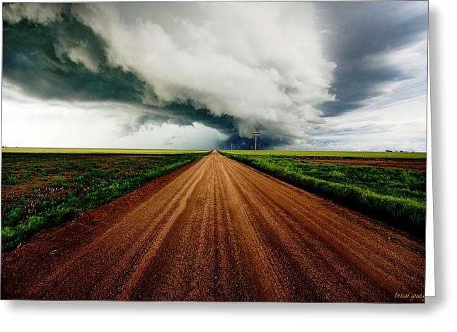 Into The Storm Greeting Card by Brian Gustafson