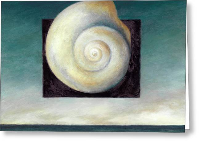 Shell 2 Greeting Card by Katherine DuBose Fuerst