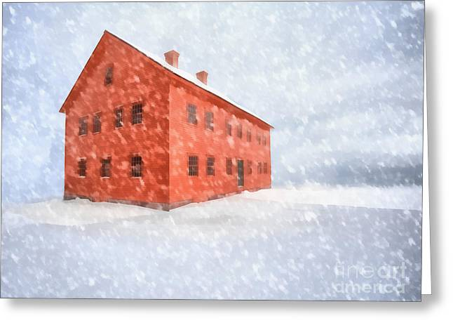Shelter From The Storm Painting Greeting Card by Edward Fielding