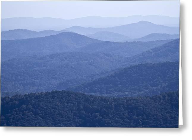 Shenandoah Mountains Greeting Card