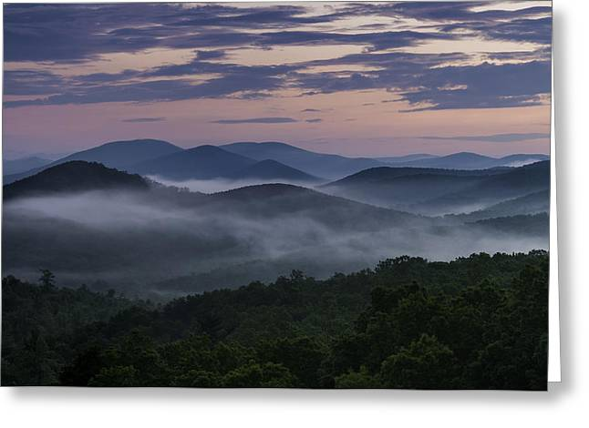 Shenandoah Sunrise Greeting Card