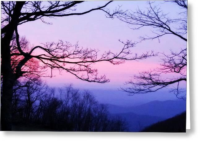 Shenandoah Twilight Greeting Card