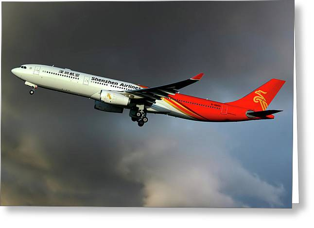Shenzhen Airlines Greeting Card