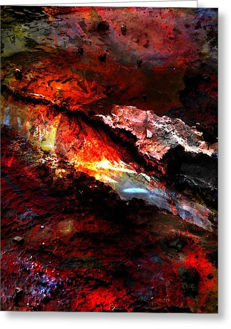 Greeting Card featuring the photograph Sheol by Ken Walker