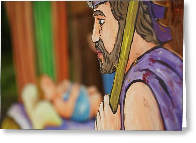 Shepherd Greeting Card by Gaspar Avila