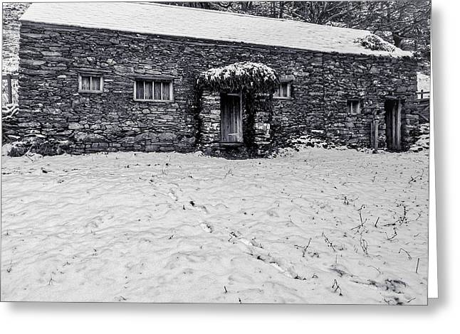 Shepherds Cottage Greeting Card by Keith Elliott