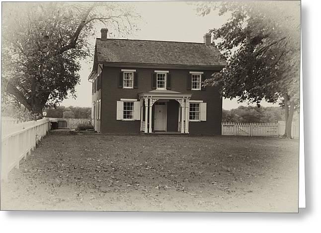 Sherfy Farmhouse Greeting Card by Hugh Smith