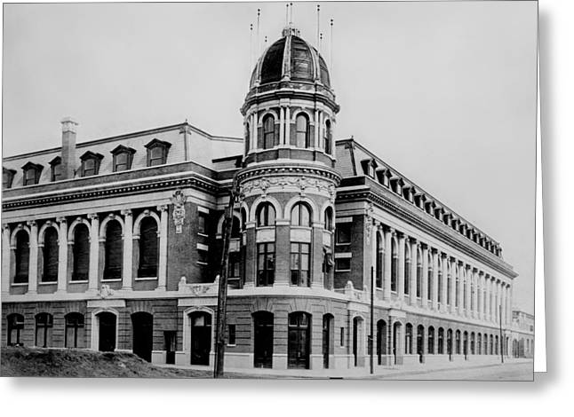 Shibe Park 1913  Greeting Card by Bill Cannon