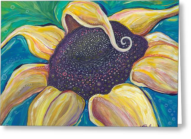 Shine Bright Greeting Card by Tanielle Childers