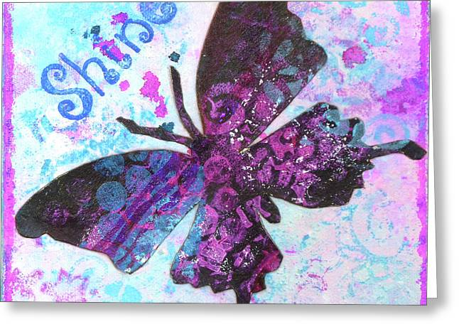 Shine Butterfly Greeting Card